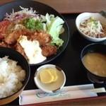 サーフィン - 魚フライ定食680円!