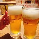 串揚げ処 味串 - 乾杯♪