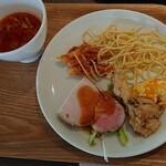 ヘルシービュッフェ アマム - 料理写真:ランチビュッフェ 2,000円+税 肉ぽいのも有りましたよ
