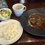 ぶつぎりたんちゃん - 特製 牛たんシチュー定食