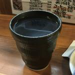 博多とりかわ 長政 - 黒霧島490円(税別)