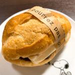 Merupochi - 【2020年12月】カルピスバターのあんバターフランス@160円。