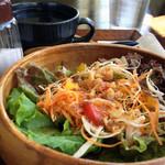 カフェランタナ - モーニングのサラダ
