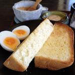 カフェランタナ - 手作り食パンとゆでたまご