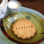 カフェランタナ - ウエルカムクッキー