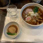麺や菜かむら - 料理写真:相模橋本らーめん今味¥780 味玉¥170