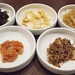 韓館 - 前菜5種類