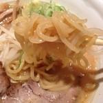 ラーメン 力丸 - モチモチな太麺(^-^)/