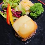 145120104 - 燻製ハンバーグ+燻製チーズ
