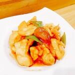宗政 - ⚫彩り野菜の酢鶏