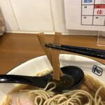 麺や 拓 - シナチク