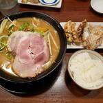 味噌の大将 - 味噌らーめん+大将セット2021.01.28
