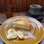 cafeウララカ - チーズケーキ