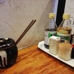 元祖ぴかいち - ざっくりした味変アイテム.辛子高菜がことのほかうまい.