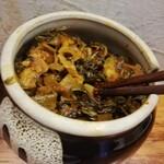元祖ぴかいち - 辛子高菜がうまい