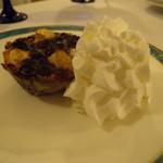 ワインビストロ ベルジェ - 早生リンゴとブルーベリーのミヤール