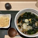国産二八蕎麦 蕎香 - 揚げ玉¥50