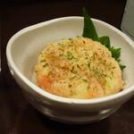 日本酒と音楽の店エイジ - 温かいのが信条のめんたいポテトサラダ