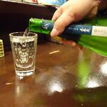 日本酒と音楽の店エイジ - 3杯目