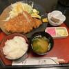かつ芳 - 料理写真:ジャンボチキンカツ膳 ¥1100