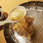 天ぷらめし 金子屋 - 天ぷらめし980円 ご飯がいまいち。天ぷらやさんのご飯は美味しくあってほしい。天ぷら自体は揚げたてなのとおかずが取り放題なのは良いです。