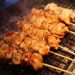 かのうや - 本格備長炭でじっくり焼かれた焼き鳥は最高!!石垣牛炙りや牛ハラミ炙りも最高!!