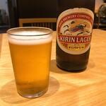 ひつまぶし名古屋備長 - 瓶ビール