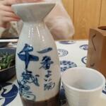焼き鳥と生サワー トリサワ子 - 日本酒から千歳鶴550円