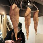 米沢鶏肉店 - チキンジャーキー♡