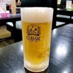 ラーメン大将 - ビール 500円