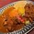 創作スパイス料理 Petti - 料理写真:チキンカリー&キーマの2種あいがけ