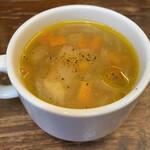 ビストロ横丁 - スープ
