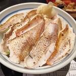 せかい鮨 - のどぐろ炙り丼