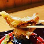 天ぷら海鮮 五福 - 豚天