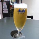 14516004 - 【H24.8.25】生ビールグラス380円。