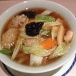 杏花楼 - 五目麺(1000円)