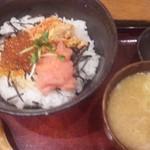 14516976 - たらこ三色丼(1,000円)