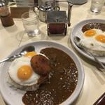 カレー専門店 横浜 - 目玉カレー2連星