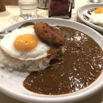 カレー専門店 横浜 - 目玉カレークリコロトッピ