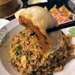 台湾菜館 弘城 - にんにく焼き餃子