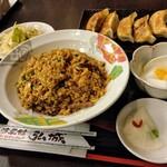 台湾菜館 弘城 - ガーリックセット