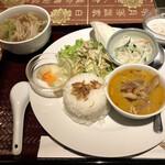 アンナンブルー・ブンカフェ - Aランチ  税込900円