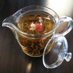 ミルクカフェ - 花茶