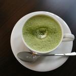 ミルクカフェ - 抹茶ラテ