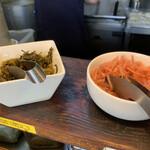 博多濃麻呂 - 高菜と紅生姜