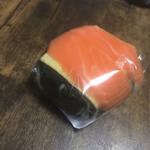 うめもり - わさび葉寿し (シャケ) 290円
