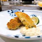 Teppanyakihanasui - 牡蠣ぷりぷり
