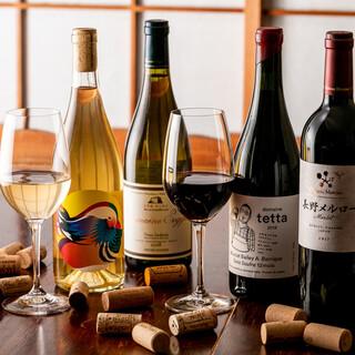 日本ワインが100種類以上