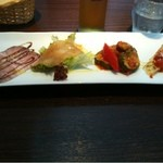 トゥッティ - 料理写真:ランチの前菜