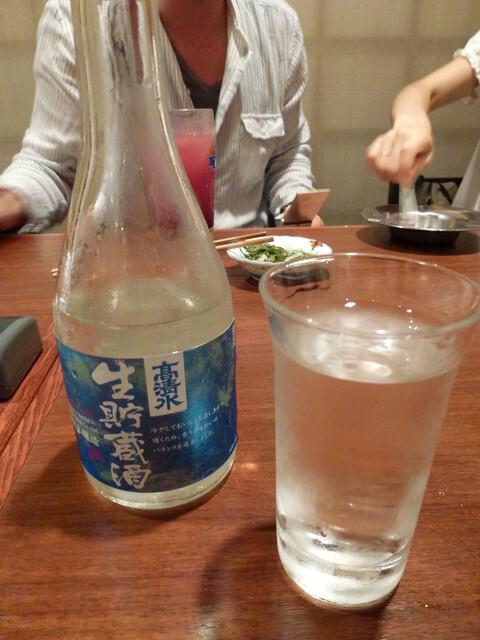 忠助 海浜幕張店 - 【H24.8.25】高清水生貯蔵酒。